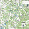 Paluknio etapo navigacijos žemėlapis